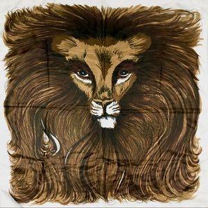 Vintage Lion Scarf Bandana | Made in Japan